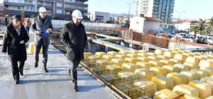 Karabağlar'a 4 bin metrekarelik 160 araçlık otopark