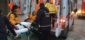 84 yaşındaki kadını yangından itfaiye kurtardı İtfaiye ekipleri tek katlı ahşap evde çıkan yangını söndürüp ev sahibini kurtardı