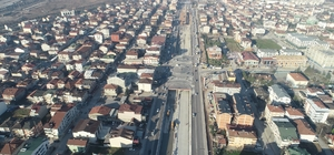 Köseköy Kavşağı'nda asfalt serimi başladı