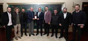 Gebzespor'dan başkan Köşker'e ziyaret