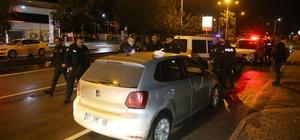 Bekçilerin üzerine doğru otomobili sürüp kaçan sürücü yakalandı