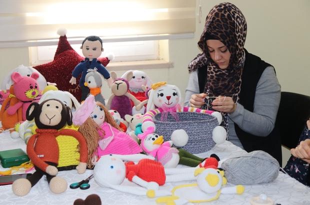 Enda Home Amigurumi Tavşan Bebek Organik Ev Yapımı Örgü Oyuncak ... | 410x620
