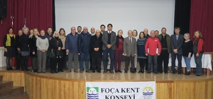Foça Kent Konseyi, olağan genel kurul için toplandı