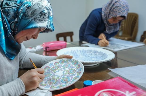 Denizli'de Türk el sanatları yaşatılıyor ile ilgili görsel sonucu