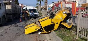 Aliağa'da trafik kazası: 2 yaralı
