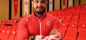 """Taha Akgül, Avrupa şampiyonluğu rekorunu geliştirmek istiyor Taha Akgül: """"Serbest güreşteki rekorumu geliştirmek istiyorum"""""""