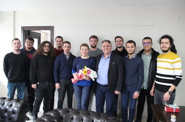 """Ümit Bahtiyar üniversite öğrencileri ile bir araya geldi Millet İttifakı Denizli Büyükşehir Belediye Başkan adayı Ümit Bahtiyar: """"Teknoloji Üniversitesi kuracağız"""""""