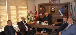Başkan Bozkurt'tan Başkan Tunçay'a ziyaret