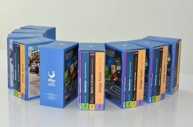 Aliağa Belediyesi'nden altı kitaplık dev kültür seti