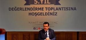 """Başkan Genç: """"Samimi oldum; Halk bağrına bastı"""" Ortahisar Belediye Başkanı Ahmet Metin Genç, geçen 5 yılın karne notunu 29 Mart'ta Ortahisarlılar'dan istedi"""