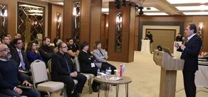 """Seçer, iş dünyası ile bir araya geldi CHP Mersin Büyükşehir Belediye Başkan Adayı Vahap Seçer: """"Önceliğim yatırım ve istihdam olacak"""""""