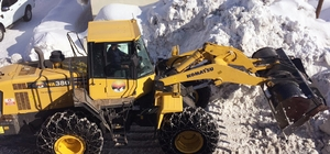 Kar durdu, karla mücadele durmadı Bingöl'ün Karlıova ilçesinde yaklaşık uzun süre etkili olan kar yağışının durması ile karla mücadele çalışmaları hız kazandı