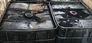 Yağları toplayıp kaçak akaryakıt yaptılar İnceltilmiş yağdan yapılan 4 bin 200 litre kaçak akaryakıt ele geçirildi Operasyonda 2 kişi gözaltına alındı