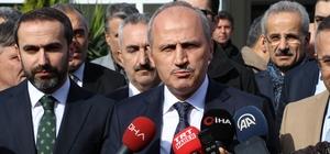 """Ulaştırma ve Altyapı Bakanı Turhan: """"Artvin-Rize Havalimanı 2020 yılı sonunda hizmet girecek"""""""