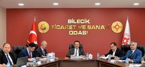 """Yüzde 54'lük sanayi payı ile Bilecik Türkiye'de ikinci sırada Bilecik'te 6 OSB'ye ek olarak 2 tane de yapım aşamasında Bilecik Valisi Bilal Şentürk; """"İmkân ve kabiliyetle yeni potansiyelleri ortaya çıkarmak için heyecan katmamız lazım"""""""