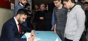 Araştırmacı Yazar Adem Turan'dan fakir öğrenciler yararına imza günü