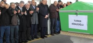 Milletvekili Sait Kirazoğlu'nun baba acısı Turan Kirazoğlu'nun cenazesine AK Parti Genel Başkan Yardımcısı Numan Kurtulmuş da katıldı