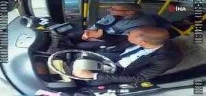 (Özel) Patlama anında otobüste yaşananlar kamerada