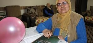 """Aşkı için 65'inde okuma-yazmayı öğrendi İlk cümlesi """"Osman seni çok seviyorum"""" oldu"""