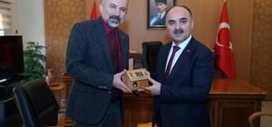 TEMA Vakfı Kayseri Temsilciliği Yönetimi, Kayseri Valisi Şehmus Günaydın'ı makamında ziyaret etti