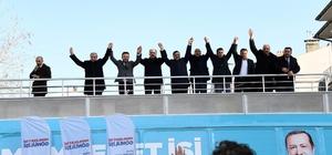Başkan Altay ve Angı'dan Akören ve Çumra'da birlik ve beraberlik mesajı