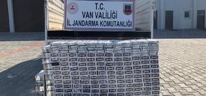Van'da 2 bin 500 paket kaçak sigara ele geçirildi