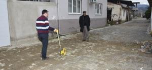 Nazilli Belediyesi kırsalda yol hamlelerine devam ediyor