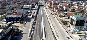 Kocaeli-Sakarya ulaşımını rahatlatacak köprülü kavşak açılıyor