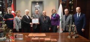Deliklitaş Gel-Der'den Ataç'a onursal üyelik