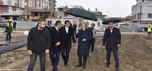 Vali Demirtaş'tan okul inşaatlarında inceleme