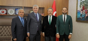 Başkan Palancıoğlu MHP'de