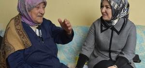 Kocasinan Belediyesi yaşlıları yalnız bırakmıyor