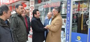 CHP'li Gökçe seçim çalışmalarını sürdürüyor