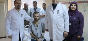 40 dakika süren kalp masajı ve ardından yapılan 7 saatlik ameliyatla hayata döndü Üniversiteli genç yaşam mücadelesini kazandı
