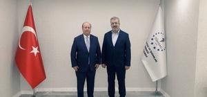 TÜMSİAD Mesut Özakcan'ı ağırladı