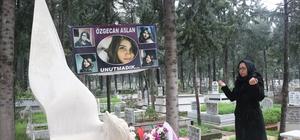 """Özgecan'ın annesi: """"Kadın cinayetleri son bulsun"""" Mersin'in Tarsus ilçesinde, 11 Şubat 2015 tarihinde bindiği minibüsün sürücüsü tarafından vahşice öldürülen üniversite öğrencisi Özgecan Aslan, toprağa verilişinin 4. yılında mezarı başında dualarla anıldı Anne Songül Aslan: """"Ya güzel bir kanun yapsınlar yada idman getirsinler"""" Baba Mehmet Aslan: """"Kadına şiddet kader değil"""""""