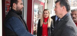 MHP'li Akın, Aydın'da esnaflarla bir araya geldi
