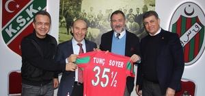 """Soyer: """"İzmir'in tüm kulüpleri için üzerimize düşeni yapmaya hazırız"""""""