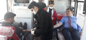 Eksi 20 derecede kan bağışı kampanyası