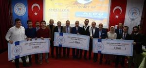 ALKÜ'de Girişimciler ödüllerini aldı