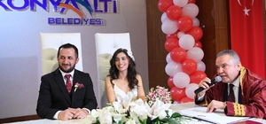 Konyaaltı'nda 14 Şubat'ta 14 nikah