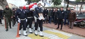 Genç polis meslektaşlarının omuzlarında toprağa verildi