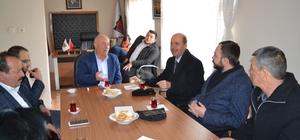 Başkan Bozkurt'dan Ziraat Odası ve Muhtarlar Derneğine ziyaret
