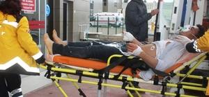Ayvalık'ta patlama: 1 yaralı Açık unutulan ocaktan sızan gaz bomba gibi patladı, Afgan işçi yaralandı
