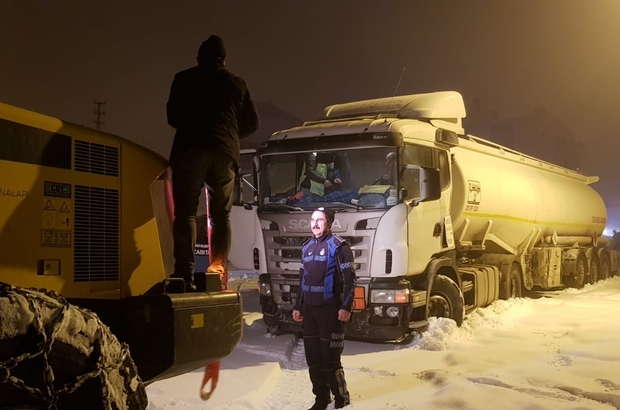 Erzurum'da etkili olan sis trafik kazalarına neden oldu ile ilgili görsel sonucu