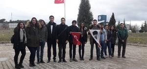 """100. Yıl Söyleşileri'nin 12'ncisi Bilecik'te gerçekleşti Türkiye Gençlik Birliği (TGB) Genel Başkanı Yıldırım Gençer """"Mustafa Kemal Atatürk'ün açtığı yoldan giden biz gençler, 100 yıl sonra yeniden büyük zaferlere yürüyeceğiz"""""""