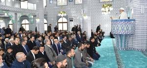 Solaklı Merkez Camisi ibadete açıldı