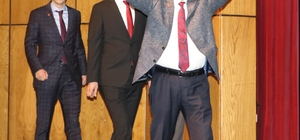 """Karamollaoğlu: """"Biz milletimizle ittifak yaptık"""" Saadet Partisi Rize belediye başkan adaylarını tanıttı Temel Karamollaoğlu: """"Türkiye'de seçime tek başına giren sadece Saadet Partisi'dir. Biz ittifak yapmadık. Biz milletimizle ittifak yaptık"""""""