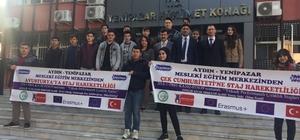Çıraklar bu defa Avusturya ve Çek Cumhuriyeti'ne yolcu edildi Yenipazar MEM uluslararası çalışmaya başladı