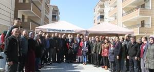 Başkan Ertürk, TOKİ sakinleri ile bir araya geldi
